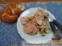 Фото к рецепту: Мясной салат (по-баварски)