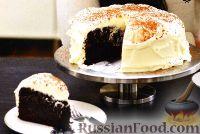 Фото к рецепту: Торт пивной с нежным сливочным кремом