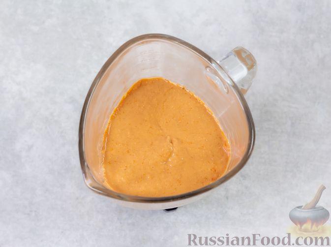 Фото приготовления рецепта: Закусочные кексики из куриных сердечек, с манкой - шаг №9