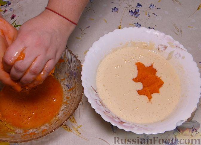 Фото приготовления рецепта: Манник с тыквой - шаг №4