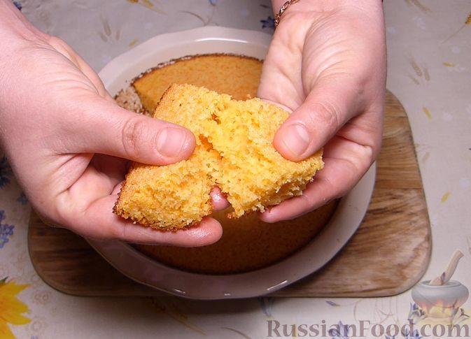 Фото приготовления рецепта: Манник с тыквой - шаг №8