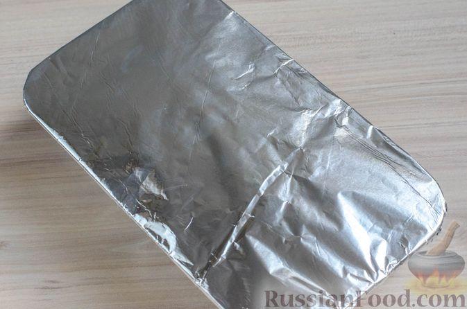 Фото приготовления рецепта: Мясной террин с черносливом и фисташками - шаг №15