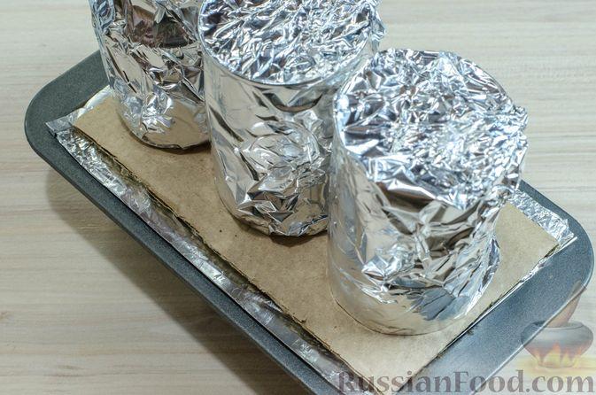 Фото приготовления рецепта: Мясной террин с черносливом и фисташками - шаг №19