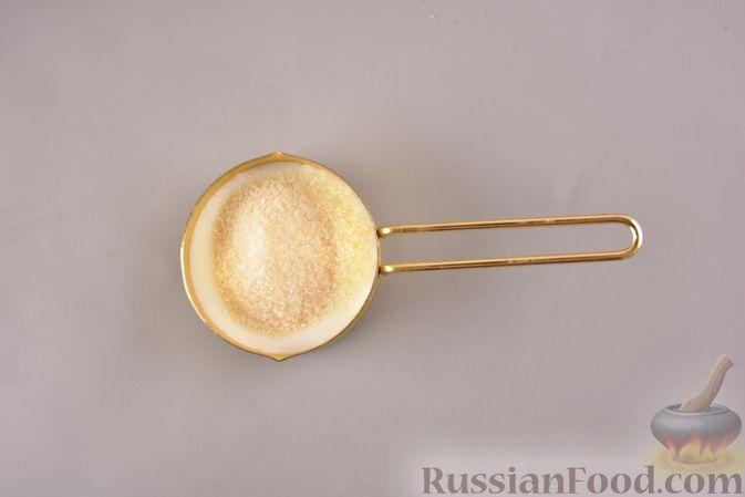 Фото приготовления рецепта: Сливочно-кофейный десерт с сухими завтраками - шаг №2