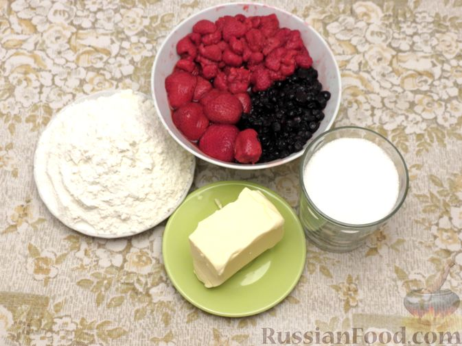 Фото приготовления рецепта: Крамбл с ягодами - шаг №1