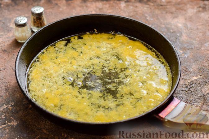 Фото приготовления рецепта: Запеканка из квашеной капусты, мясного фарша и риса - шаг №3