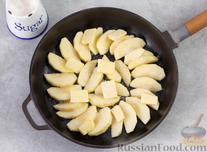 Фото приготовления рецепта: Овсяноблин с яблоками (в духовке) - шаг №2