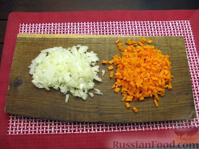 Фото приготовления рецепта: Щи с тыквой и фасолью - шаг №8