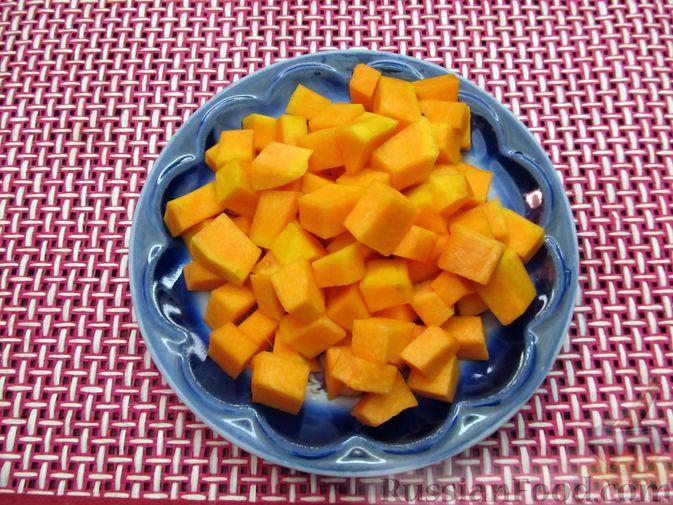 Фото приготовления рецепта: Щи с тыквой и фасолью - шаг №10