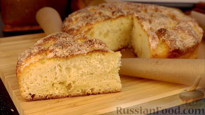 "Фото к рецепту: Пирог ""Сахарная корочка"""