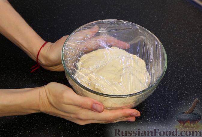 """Фото приготовления рецепта: Пирог """"Сахарная корочка"""" - шаг №5"""