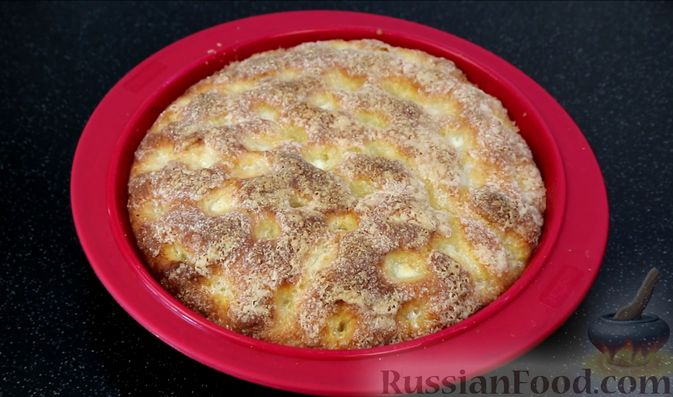 """Фото приготовления рецепта: Пирог """"Сахарная корочка"""" - шаг №14"""