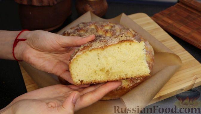 """Фото приготовления рецепта: Пирог """"Сахарная корочка"""" - шаг №16"""