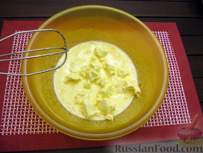 Фото приготовления рецепта: Банановое печенье с орехами - шаг №5