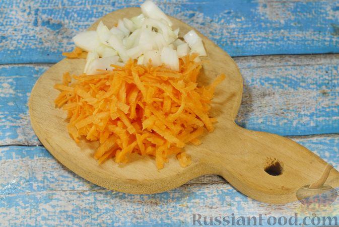 Фото приготовления рецепта: Свинина, запечённая с чечевицей и тыквой - шаг №9