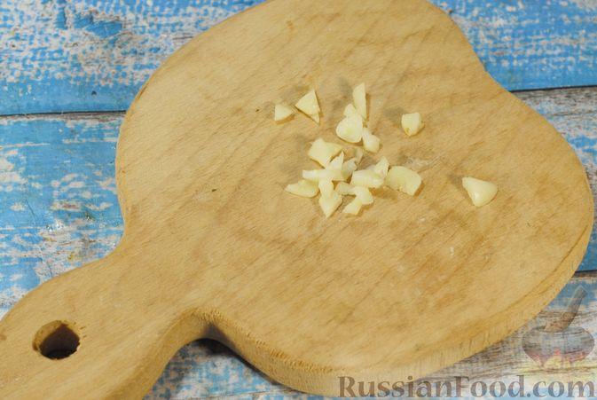 Фото приготовления рецепта: Свинина, запечённая с чечевицей и тыквой - шаг №11