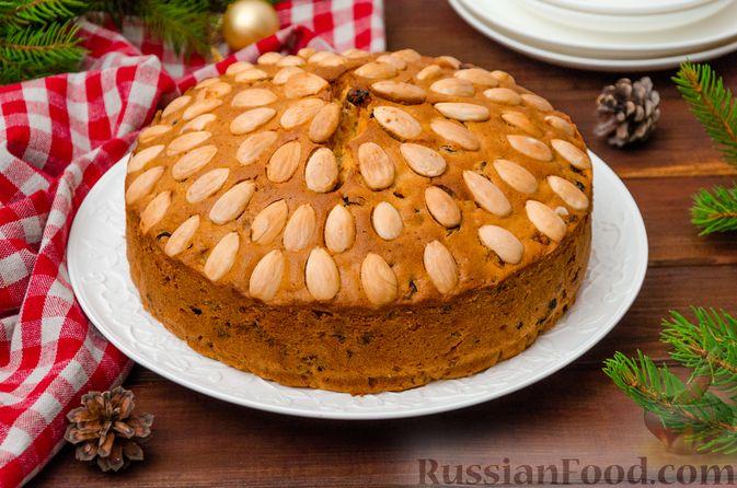 """Фото приготовления рецепта: Шотландский рождественский кекс """"Данди"""" - шаг №20"""