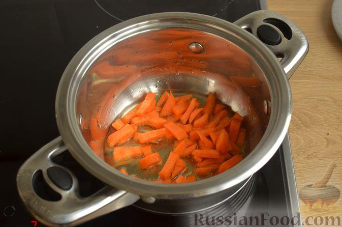 Фото приготовления рецепта: Булгур с фасолью и сладким перцем - шаг №3