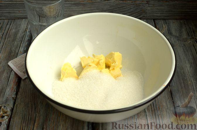 Фото приготовления рецепта: Маффины на молоке, с ягодами - шаг №2