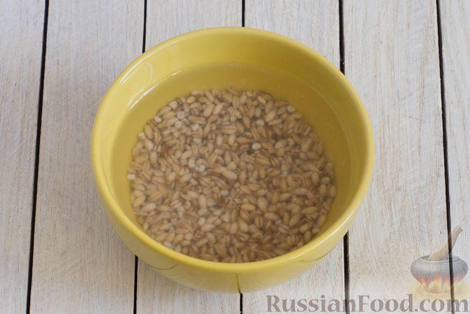 Фото приготовления рецепта: Грибной суп с перловой крупой - шаг №2