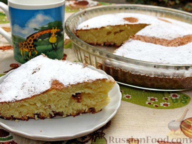 Фото к рецепту: Пирог-сметанник