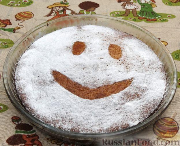 Фото приготовления рецепта: Пирог-сметанник - шаг №9