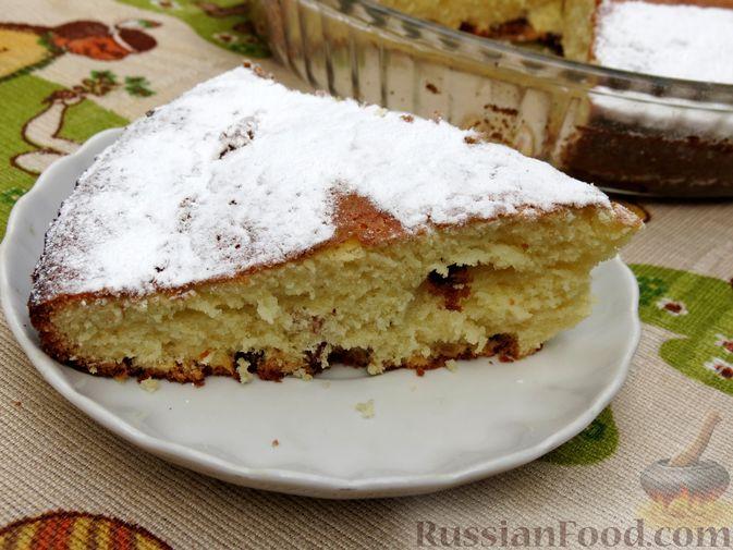 Фото приготовления рецепта: Пирог-сметанник - шаг №10