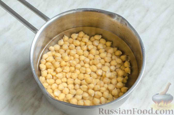 Фото приготовления рецепта: Голубцы с нутом, рисом и мясным фаршем - шаг №3