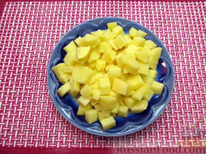 Фото приготовления рецепта: Гречневый суп с курицей и болгарским перцем - шаг №10