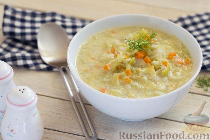 Фото к рецепту: Суп-пюре из консервированного горошка с овощами и вермишелью