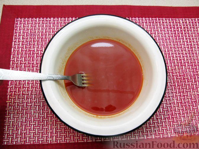 Фото приготовления рецепта: Булгур с мясным фаршем и томатной пастой (на сковороде) - шаг №8