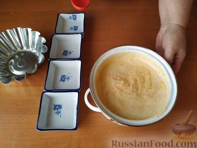 Фото приготовления рецепта: Суфле из тыквы - шаг №5