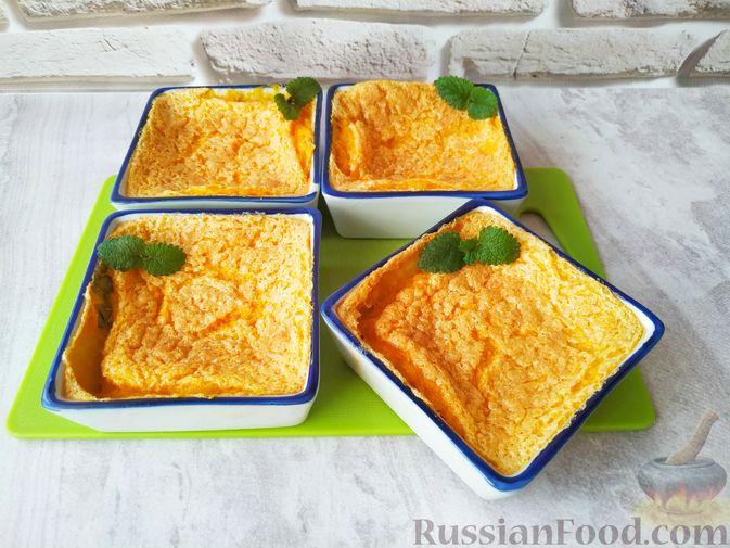 Фото приготовления рецепта: Суфле из тыквы - шаг №6