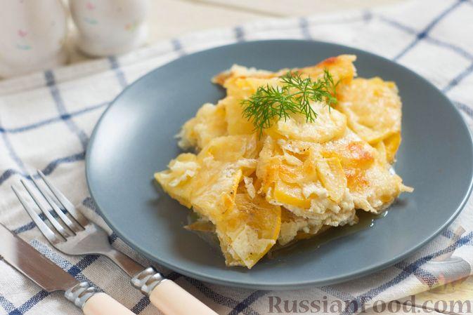 Фото к рецепту: Запеканка из репы с сыром