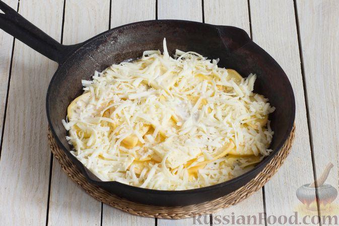 Фото приготовления рецепта: Запеканка из репы с сыром - шаг №6