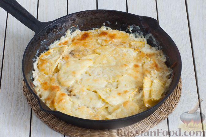 Фото приготовления рецепта: Запеканка из репы с сыром - шаг №8