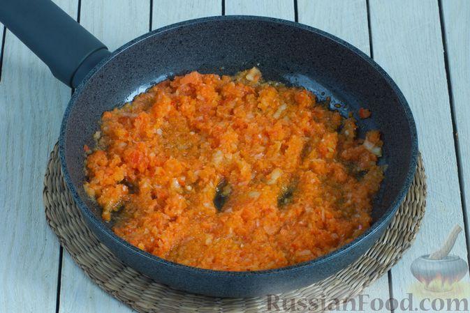 Фото приготовления рецепта: Борщ с краснокочанной капустой и нутом - шаг №7