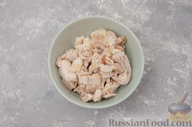 Фото приготовления рецепта: Куриный суп с гречневой крупой и овощами - шаг №10