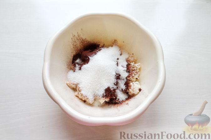 Фото приготовления рецепта: Творожно-молочное желе с какао - шаг №5