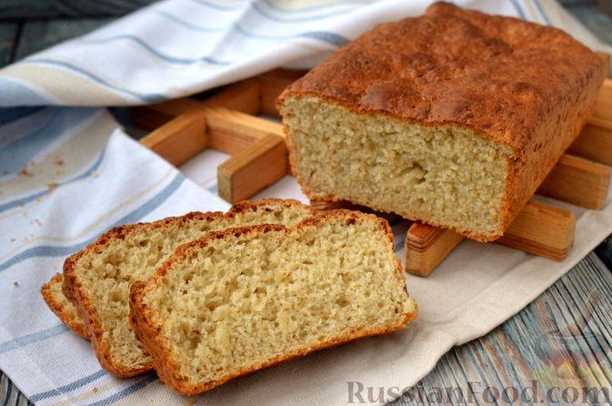 Фото к рецепту: Хлеб на картофельном отваре, с овсянымы хлопьями