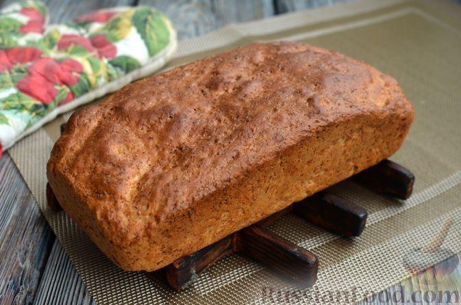 Фото приготовления рецепта: Хлеб на картофельном отваре, с овсянымы хлопьями - шаг №13