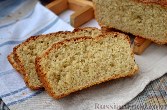 Фото приготовления рецепта: Хлеб на картофельном отваре, с овсянымы хлопьями - шаг №14