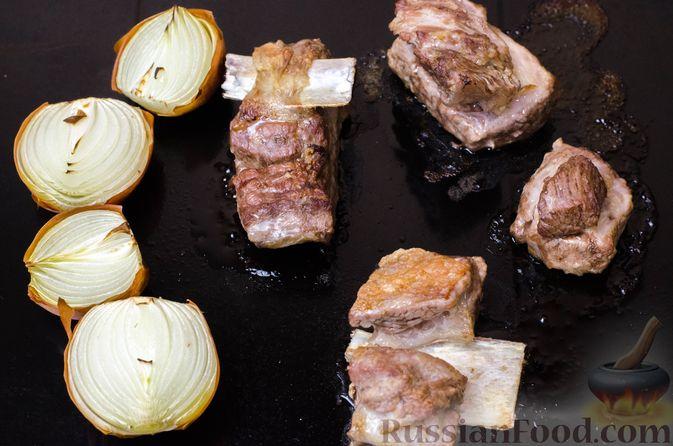 Фото приготовления рецепта: Грузинская солянка - шаг №5