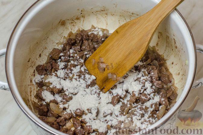 Фото приготовления рецепта: Грузинская солянка - шаг №10