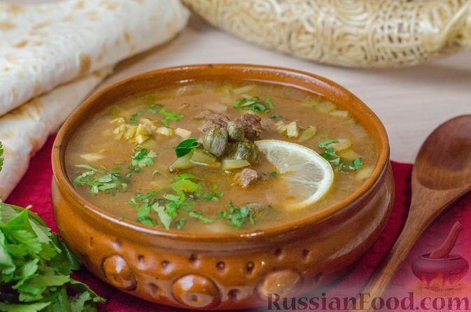 Фото приготовления рецепта: Грузинская солянка - шаг №19