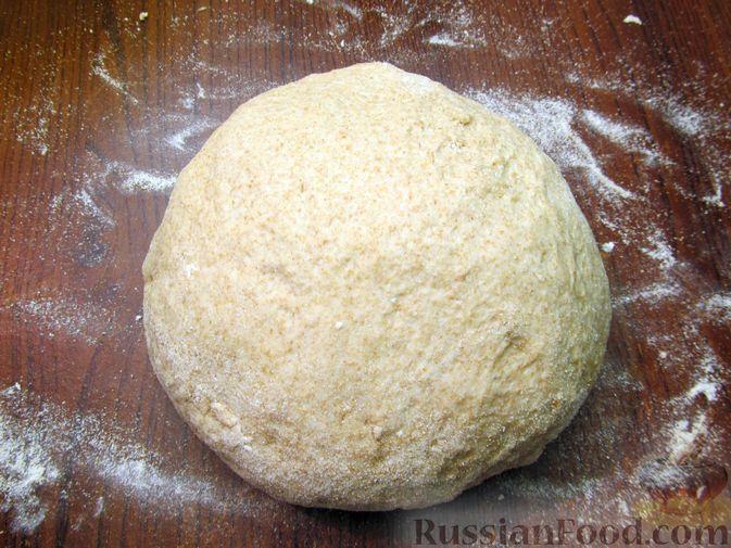 Фото приготовления рецепта: Цельнозерновой пшеничный хлеб с мёдом - шаг №7