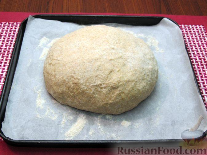 Фото приготовления рецепта: Цельнозерновой пшеничный хлеб с мёдом - шаг №8