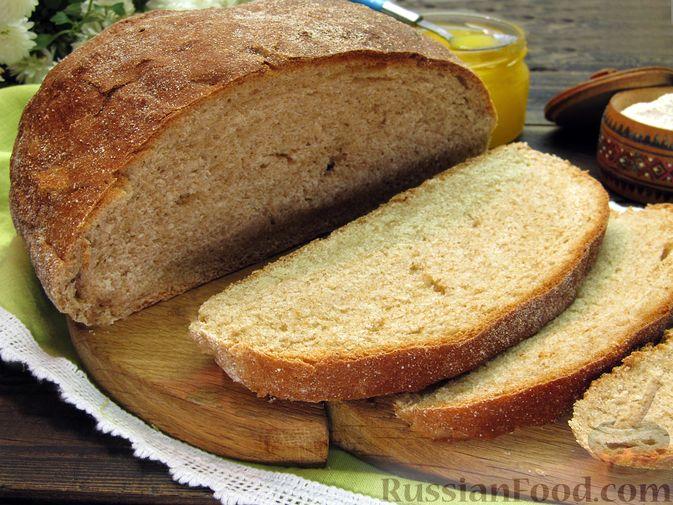 Фото приготовления рецепта: Цельнозерновой пшеничный хлеб с мёдом - шаг №10