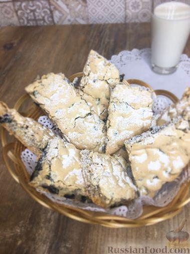 """Фото приготовления рецепта: Печенье """"Мазурка"""" с изюмом и орехами - шаг №10"""