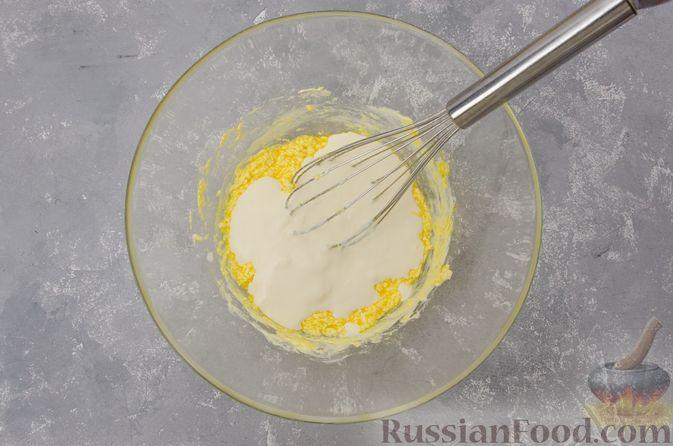 Фото приготовления рецепта: Банановый пирог-перевёртыш (Тарт Татен) - шаг №4